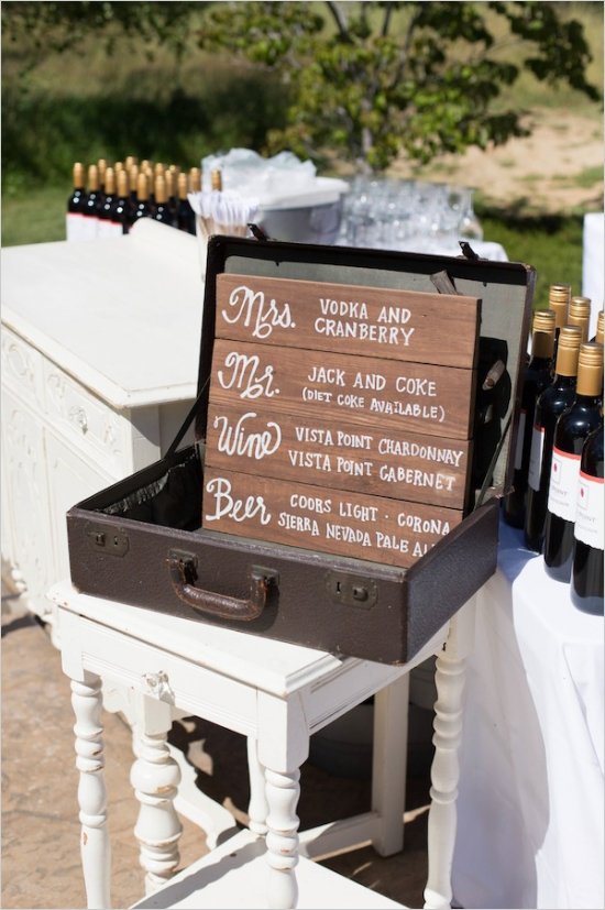 14 Unique uses for Vintage Suitcases at Weddings - Bespoke Decor