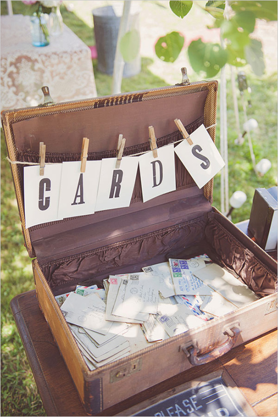 14 Unique Uses For Vintage Suitcases At Weddings