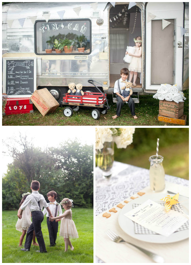 Kids at Weddings- Some gorgeous ways to spoil them!