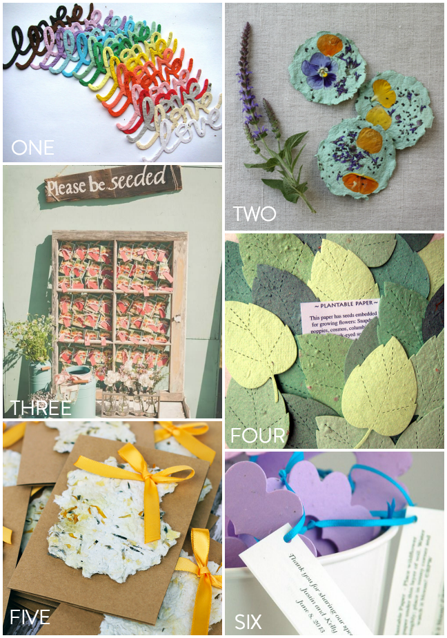 Favour Trend- Seed Paper Favours