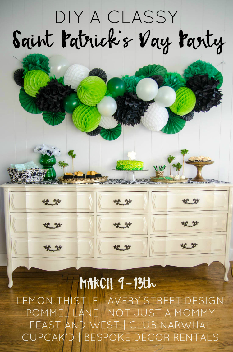 DIY a Classy Saint Patrick's Day Party