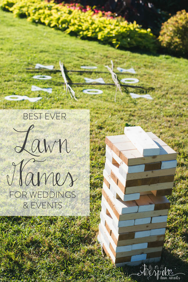 Feature Friday Lawn Games Bespoke Decor