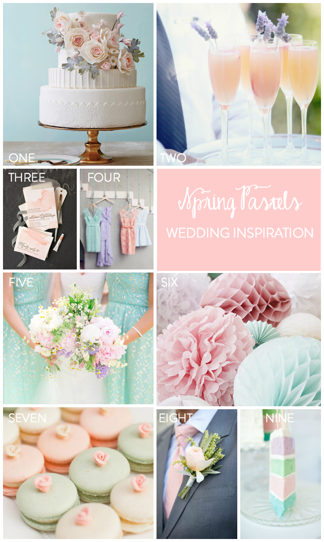 Spring Pastel Wedding Inspiration