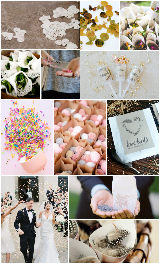 toss ideas for your wedding that we love