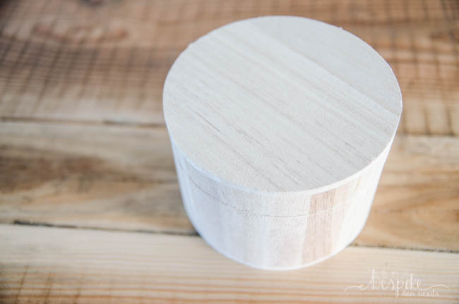 DIY Monogrammed Ring Box- I love the natural wood look with the burned Initial! So simple and classy
